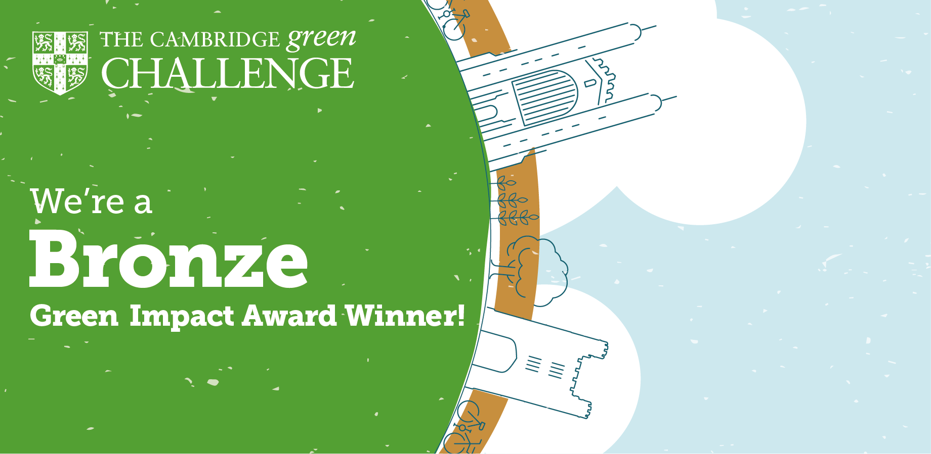 The Postdoc Academy has gained a Green Impact Bronze Award
