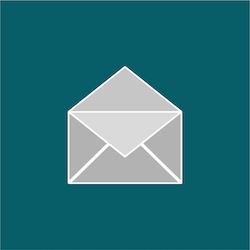 Email newsletter symbol